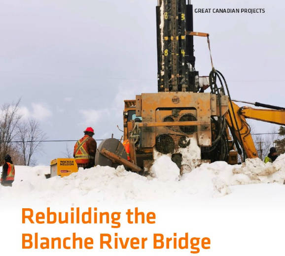 Blanche River Bridge Project